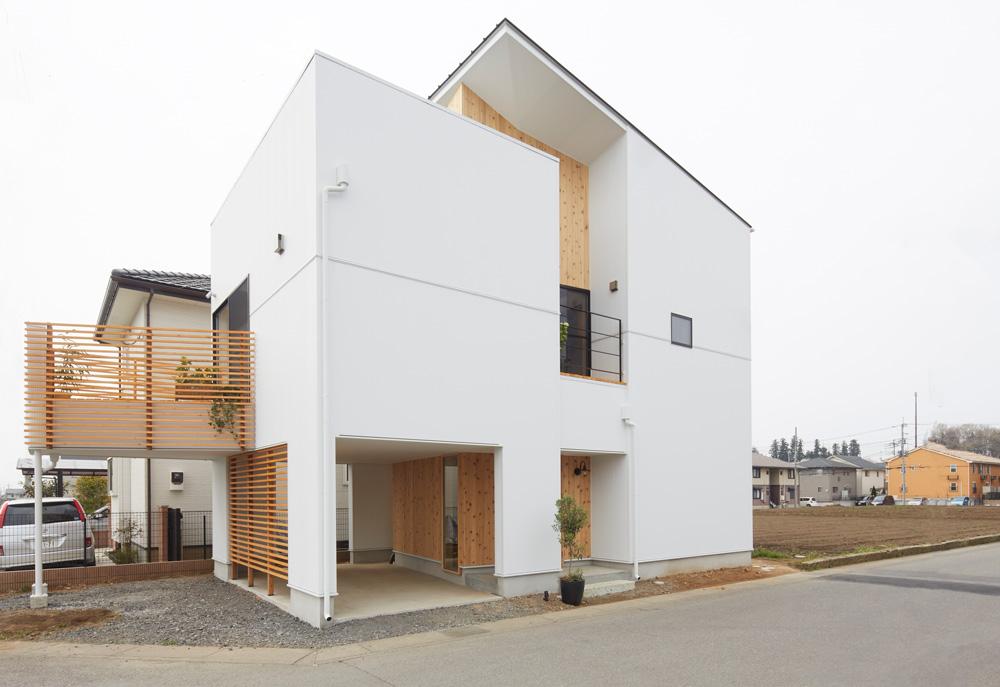 建築設計事務所RENGE 「斜の家」